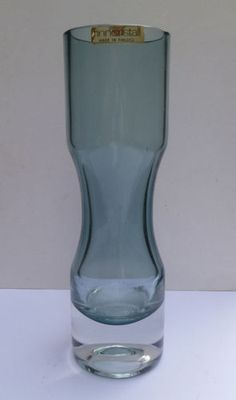 Riihimaki Vintage Riihimaki Vase 1379 By Erkkitapio Siiroinen Rare Aubergine Colour Pottery, Porcelain & Glass