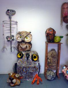 la stanza delle maschere all'arti e mestieri