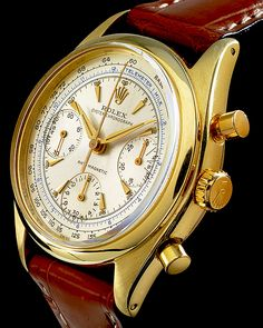 Rolex Chronograph with 1 mile distance telemeter scale.