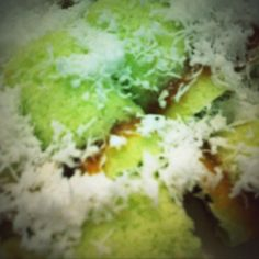 Kue Putu- Brown Sugar , Sagoo, Coconut