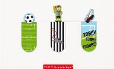 Magnet Lesezeichen Fussball bei www.party-princess.de