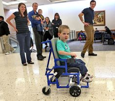 BYU engineers Design and Present an Inexpensive 'DIY PVC wheelchair'