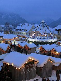 Christmas Market, Mariazell, Austria by TinyCarmen