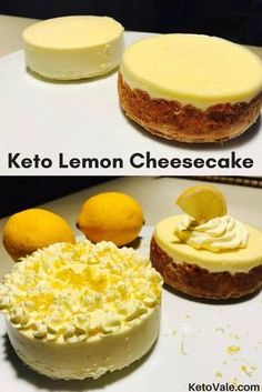 Keto Lemon Cheesecake