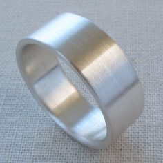 6x1 5mm Men S Comfort Fit Palladium Or Gold Wedding Band Recycled Eco Friendly Ethical Ring Custom Made Weddings And
