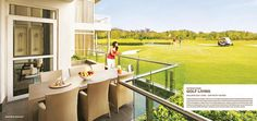 M3M Golf Estate offers a large club, spa, multi-cuisine restaurants, private art gallery, library, aerobics studio, cigar lounges, amphitheatre, human facilities, temperature controlled pool and several recreational areas.