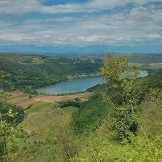 Lago di #Fimon: oggi percorso Pianezze Villabalzana centro recupero uccelli rapaci.  #vicenza #visitveneto #colliberici #berici #exploringveneto