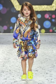 ALALOSHA: VOGUE ENFANTS: Philipp Plein kids SS14 runway