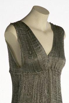 Mariano Fortuny, Delphos dress, 1920 (detail).