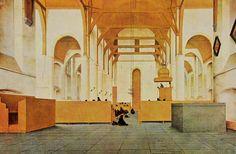 Pieter Saenredam. 1597-1665