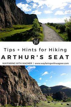 Take in the view of Edinburgh, Scotland while hiking Arthur's Seat. It gives a wonderful view of the entire city, including the Edinburgh Castle and Leith, and makes you feel like you're on top of the world! #hiking #scotland #europe