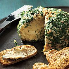 Almost like Gram Betty's: Top-Rated Party Appetizers | Date, Walnut, and Blue Cheese Ball | CookingLight.com