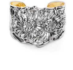 The Chrysanthemum #sterlingsilver cuff by Repousse Jewelry by Glamer was presented to the #ClassicWoman2012 Honorees