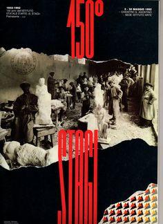 """Copertina della brochure """"I 150 ANNI DELLO STAGI"""" 1842-1992. Istituto statale d'arte """"Stagio Stagi"""" di Pietrasanta (Lu)."""