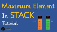 In this video, I have explained hackerrank maximum element solution algorithm. hackerrank maximum element problem can be solved by using two stacks. Free Programming Books, Programming Languages, Problem Statement, Interview Preparation, Data Structures, Tutorial, Problem Solving, Helping People, Challenges