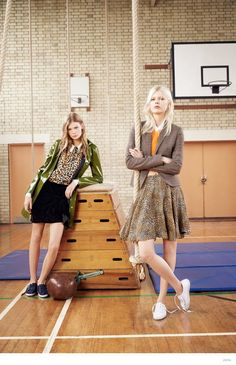 Zara TRF Goes Back to Gym Class for Fall 2014 Ads