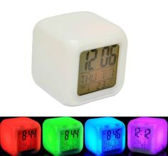 Buy SahiBUY Color Changing Clock (White) Online at Low Prices in India - Amazon.in