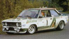 Tour de Corse 1978 - Darniche Bernard - Mahé AlainiconFiat 131 Abarth