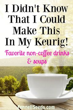 Are you getting tired of drinking water? I was but I do not drink coffee. Here are my top 3 drinks that aren't coffee using the Keurig. Keurig Recipes, Tea Recipes, Coffee Recipes, Starbucks Brownie Recipe, Keurig Cleaning, Cupping At Home, Frozen Coffee, Coffee Uses, Coffee Drinks