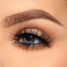 55 Beautiful eye makeup ideas to try , Brow Powder in Auburn and Chocolate! ,nude eye makeup ,nature eye makeup #makeup #eyemakeup