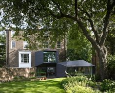 Shortlist for RIBA Manser Medal 2014 Best New House in the UK | Shortlisted: Lens House in north London by Alison Brooks Architects. Photo credit: Paul Riddle | Bustler