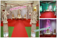 #Wedding #Buterfly #Crystal #Mandap #Set #Dstexports
