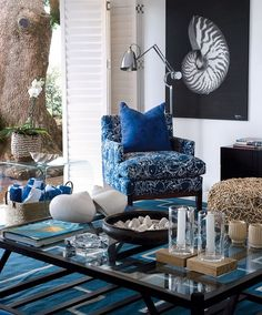 In a State of Luxe: SA Focus : Michele Throssell Interiors Take A Seat, Love Seat, Coastal Living, Coastal Style, Interior Decorating, Interior Design, Living Spaces, Living Rooms, Elle Decor