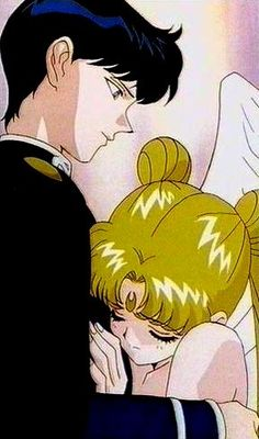 """Sailor Moon Stars"" - Mamoru and Princess Serenity."