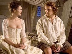 VIDEO: Outlander's Claire and Jamie Share Romantic Wedding Night Pillow Talk http://www.people.com/article/outlander-deleted-scene-wedding-night