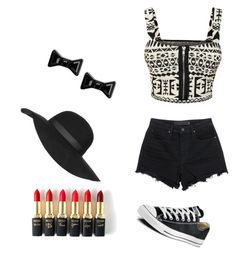 """""""Yoooo"""" by god-love-ainsley on Polyvore featuring WearAll, T By Alexander Wang, Converse, Topshop, Marc by Marc Jacobs, L'Oréal Paris, women's clothing, women, female and woman"""