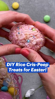 Creative Desserts, Fun Desserts, Delicious Desserts, Dessert Recipes, Yummy Food, Fun Baking Recipes, Easter Recipes, Candy Recipes, Holiday Treats