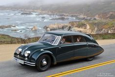 1936 Tatra T77 Aerodynamic Limousine | It was the first car designed for aerodynamic purposes.
