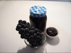 THE BEST GRAPE JAM RECIPE (BY CRAZY HACKER) - YouTube Best Grape Jam Recipe, Jam Recipes, Good Things, Make It Yourself, Fruit, Channel, Sweet Sweet, Videos, Food