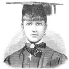 Bella Guerin was Australia's first woman university graduate – she gained her Bachelor of Arts (Hons) in 1883!