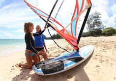Windsurfing Lessons on Maui www.actionsportsmaui.com