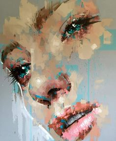 What is Your Painting Style? How do you find your own painting style? What is your painting style? Arte Pop, Portrait Art, Painting Inspiration, Painting & Drawing, Abstract Portrait Painting, Abstract Painters, Amazing Art, Watercolor Art, Modern Art