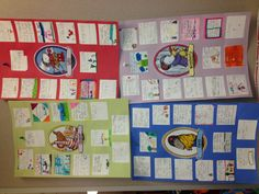 Kevin Henkes- End of the unit idea- Kids take a character and make large poster Reading Lessons, Reading Resources, Guided Reading, First Grade Reading, First Grade Classroom, Reading Workshop, Writer Workshop, Kevin Henkes Books, Character Activities