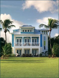 Key west house colors they paint the ceilings of porches for Winners of hgtv dream homes where are they now