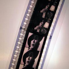 Casablanca Bookmark  Recycled 35mm Film Strips by StalkingMarla