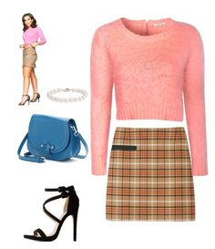 """""""Gretchen Wieners: Mean Girls Series"""" by abigailxoxoxo ❤ liked on Polyvore featuring Tory Burch, Glamorous, PAVA, GRETCHEN, Blue Nile and Charlotte Russe"""