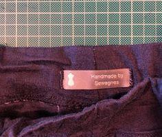 First handmade item I've sewn since I got my new labels. ❤️ them @dutchlabelshop