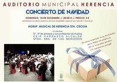 Concierto de Navidad de la agrupación musical Santa Cecilia - https://herencia.net/2016-12-15-concierto-navidad-la-agrupacion-musical-santa-cecilia-4/?utm_source=PN&utm_medium=herencianet+pinterest&utm_campaign=SNAP%2BConcierto+de+Navidad+de+la+agrupaci%C3%B3n+musical+Santa+Cecilia