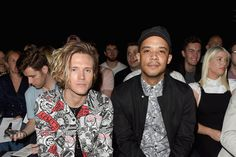 Raleigh Ritchie Arrivals & Front Row - Day 1 - London Collections Men SS17