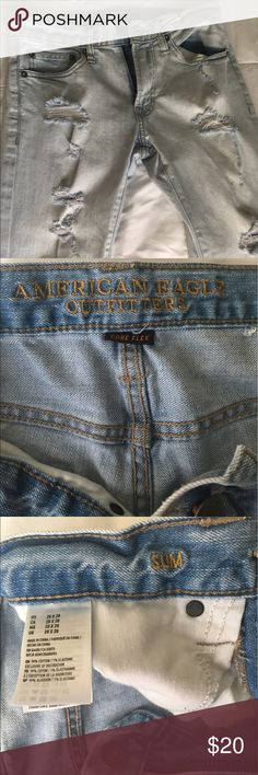 Men Jeans American Eagle Men Jeans size 28x28 Excellent condition gently used. American Eagle Outfitters Jeans Slim