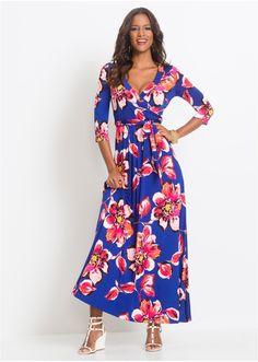 ad2425fd4eee Φόρεμα με ζώνη Μπλε Ροζ BODYFLIRT boutique