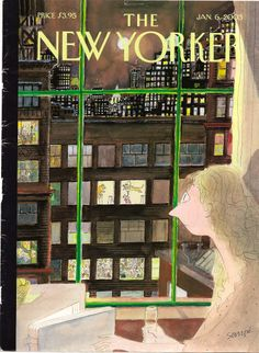 Neighbour envy - Sempe, New Yorker, 6 January 2003