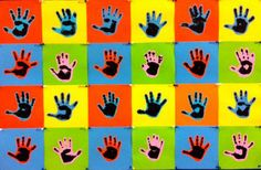 Hand Print_Warhol Pop Art