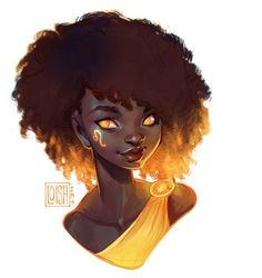 Loish блог : фото art в 2019 г. loish, art и character art. Black Girl Art, Black Women Art, Black Art, Art Girl, Loish, Drawn Art, Zodiac Art, Leo Zodiac, Afro Art