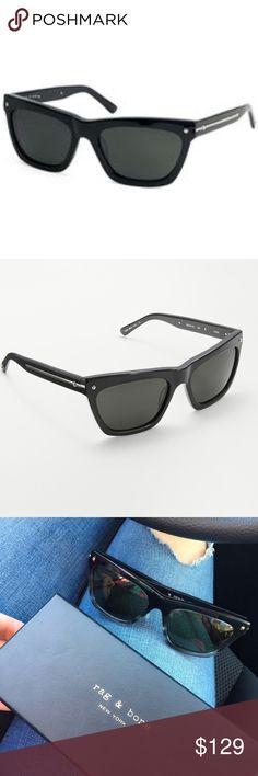 """💕HOST PICK💕 Rag & Bone """"Vespa"""" black sunglasses No scratches , comes with box. rag & bone Accessories Sunglasses"""