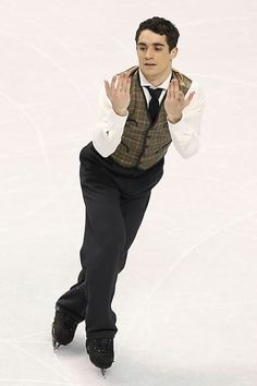 Javier Fernandez. Bronze at Worlds 2013. Charlie Chaplin